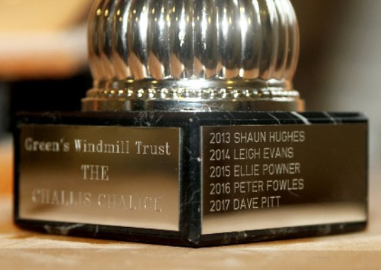 Green's Windmill Challis chalice winners