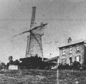 Green's Windmill in 1860