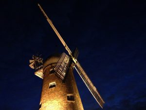 Green's Windmill at night time