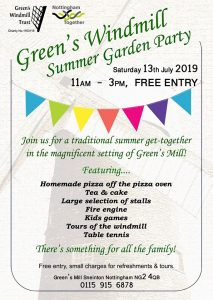 Summer Garden Party at Green's Windmill 2019