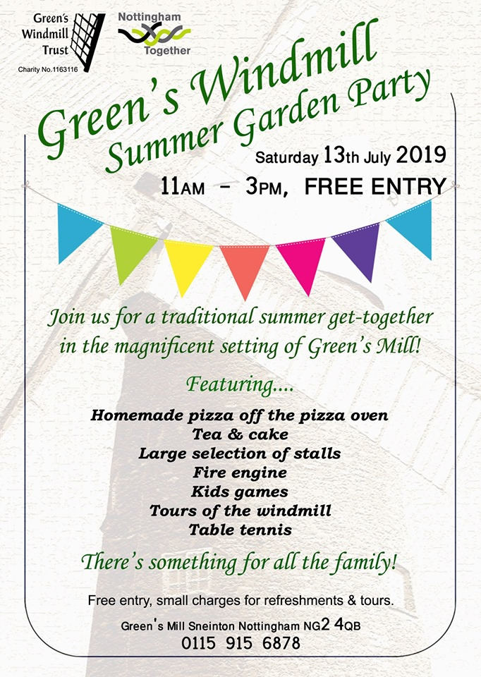 Summer Garden Party at Green's Windmill 2019