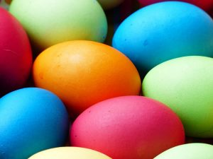 Easter egg hunt at Green's Windmill