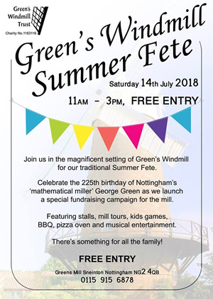 Green's Windmill Summer Fete 2018
