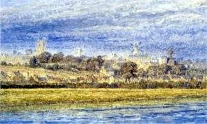 Henry Dawson Painting of the mills