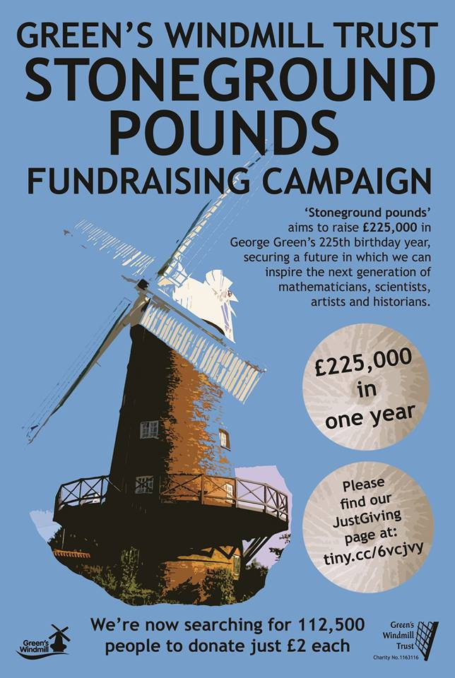 Help raise fund for Green's Windmill