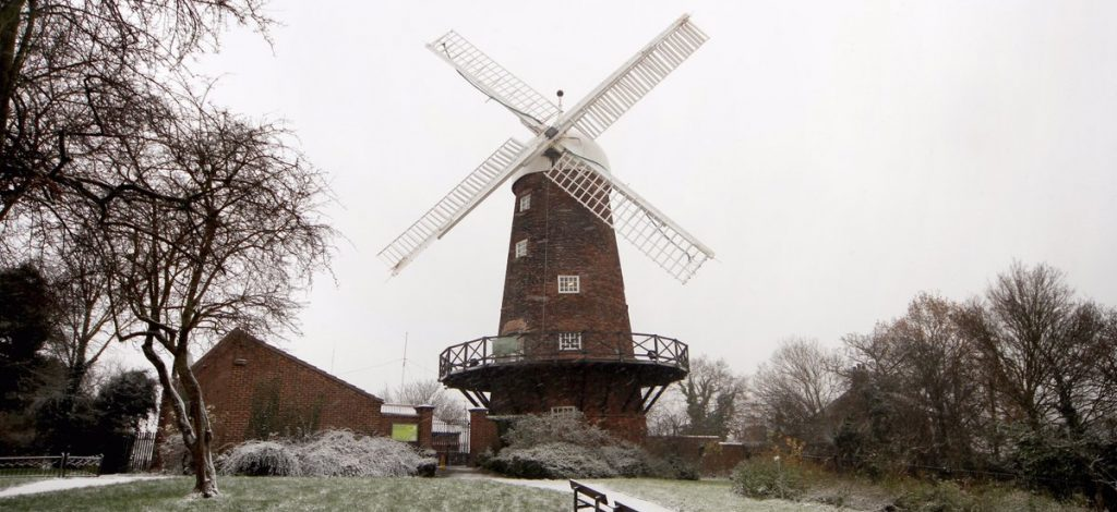 Winter at Green's Windmill