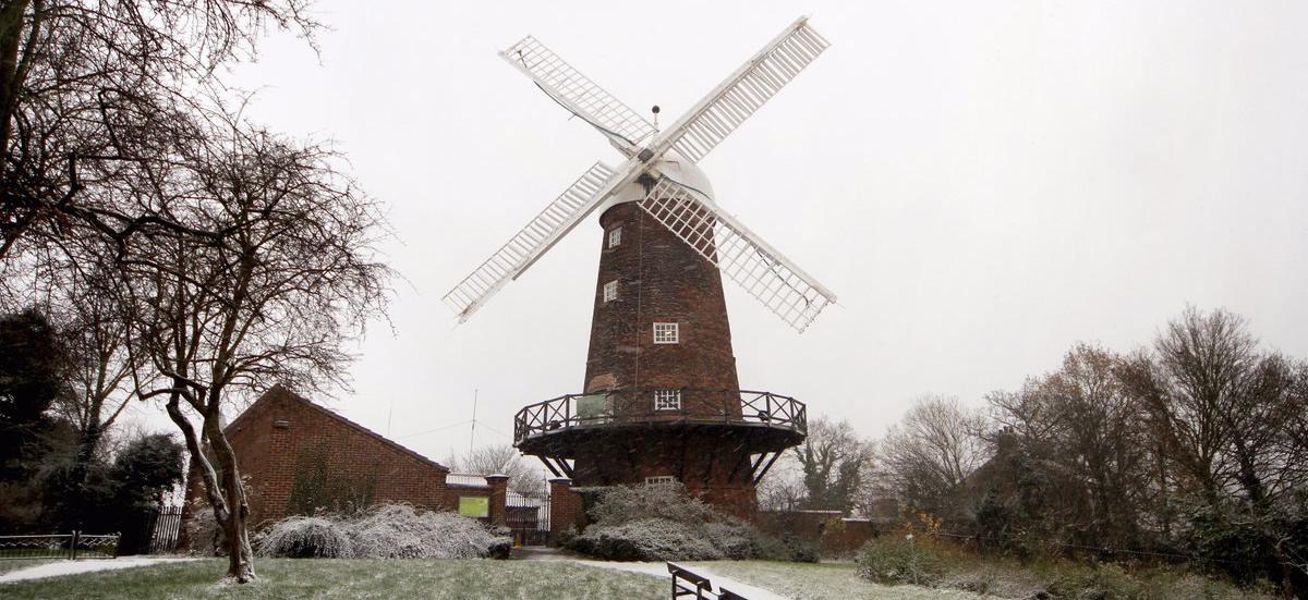 Winter at Green's Windmill